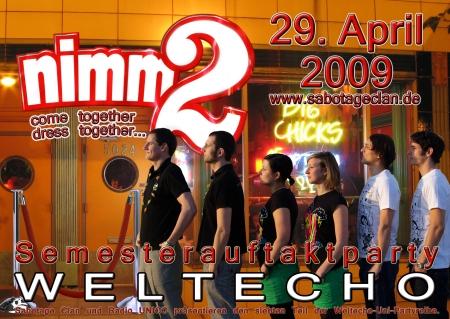 Nimm 2 - die Auftaktparty